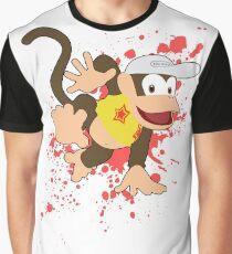 Diddy Kong (Yellow Alt.) - Super Smash Bros Graphic T-Shirt