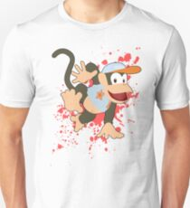 Diddy Kong (Light Blue Alt.) - Super Smash Bros T-Shirt
