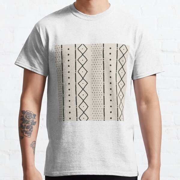 beige african mudcloth Classic T-Shirt