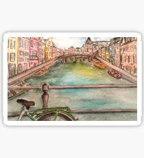 Amsterdam in Color Sticker