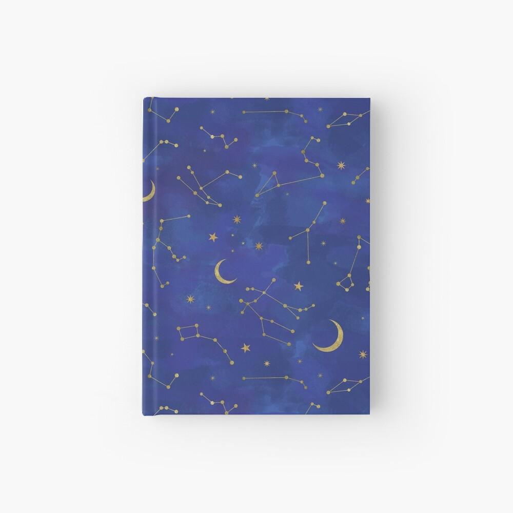 Gold Starlight Hardcover Journal
