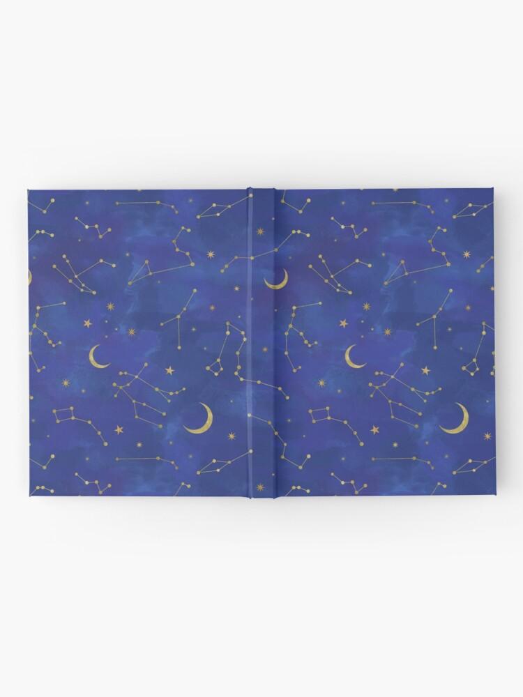Alternate view of Gold Starlight Hardcover Journal