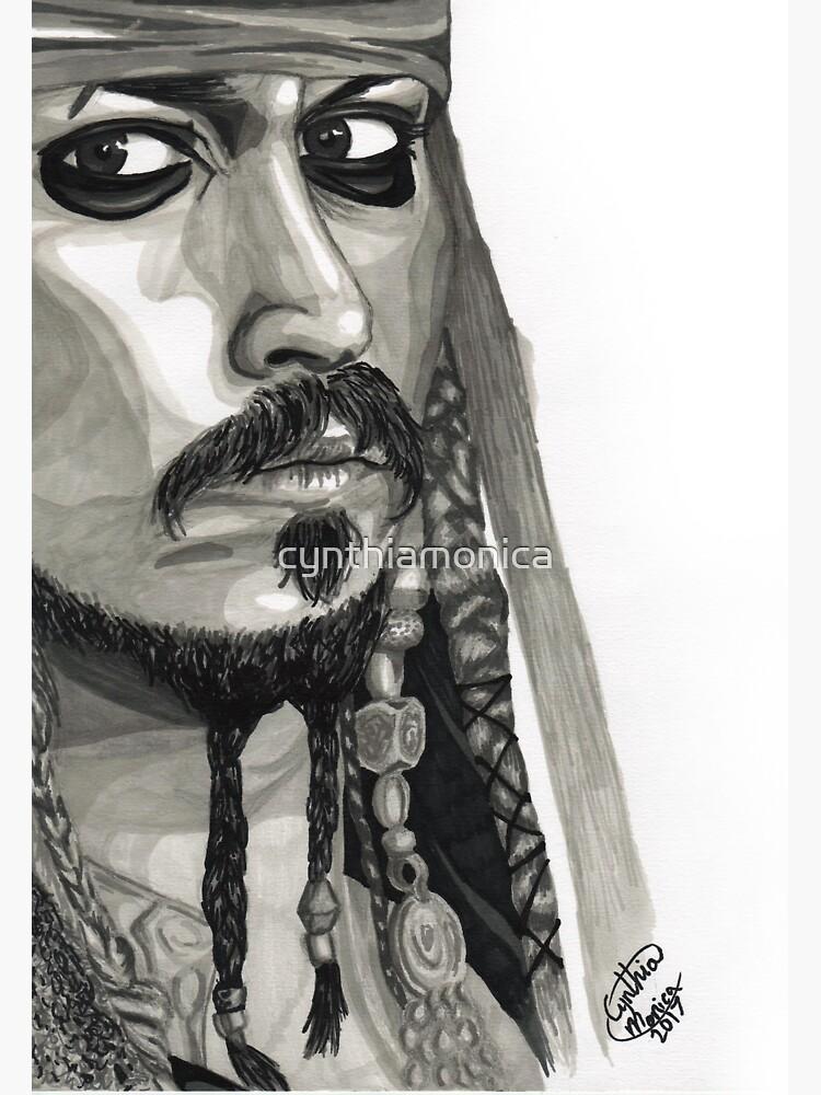 Captain Jack Sparrow by cynthiamonica