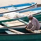 Cleaning the boat by marycarr