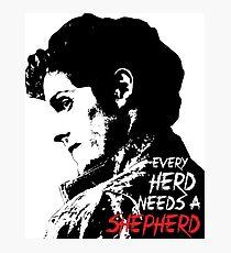 Troy Otto - Every Herd Needs a Shepherd Photographic Print