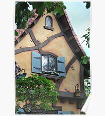 Ginger bread house Poster