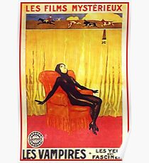 Vampires - 1917 Silent Film Poster