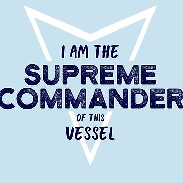 The Supreme Commander by cucumberpatchx