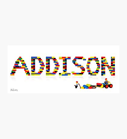Addison Photographic Print