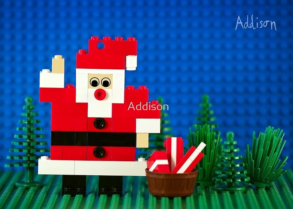 Hi Santa! by Addison