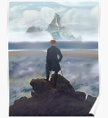 Wanderer above Dinky Island Poster