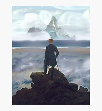 Wanderer above Dinky Island Photographic Print
