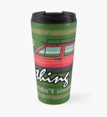 Red XJ 4x4 Lifted Travel Mug