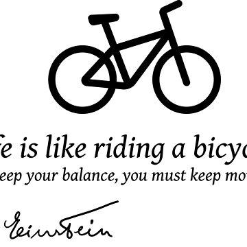 Bicycle balance by Elisvass