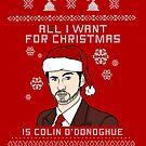 Colin O'donoghue christmas by CapnMarshmallow