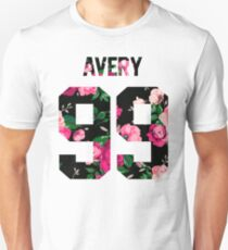 Jack Avery - Colorful Flowers Unisex T-Shirt