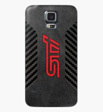 Subaru STI Alcantara carbon Case/Skin for Samsung Galaxy