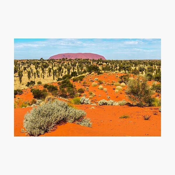 Uluru 01 Photographic Print