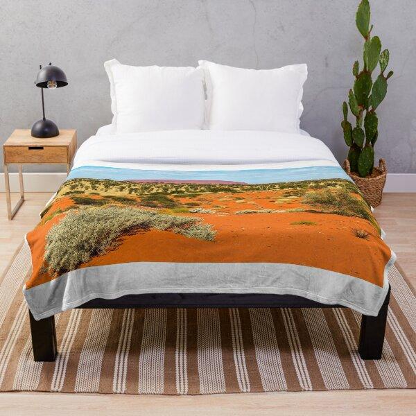 Uluru 01 Throw Blanket