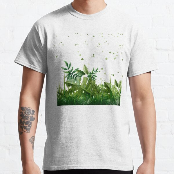 """""""Forest leaves and plants"""" Classic T-Shirt"""