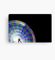 Wheel of Colour Canvas Print