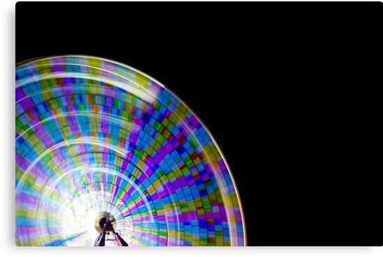 Wheel of Colour by Martin Canning