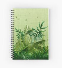 """Cuaderno de espiral """"Forest leaves and plants"""""""
