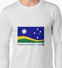 Southern Horizon - The New Australian Flag (With QR Code) Long Sleeve T-Shirt