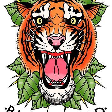 Tiger by brynthiele