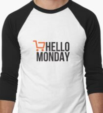 Hello Monday - Cyber Monday Men's Baseball ¾ T-Shirt