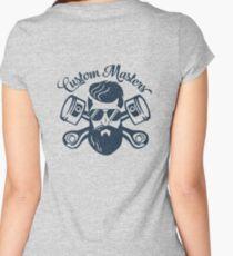 Custom Master Women's Fitted Scoop T-Shirt