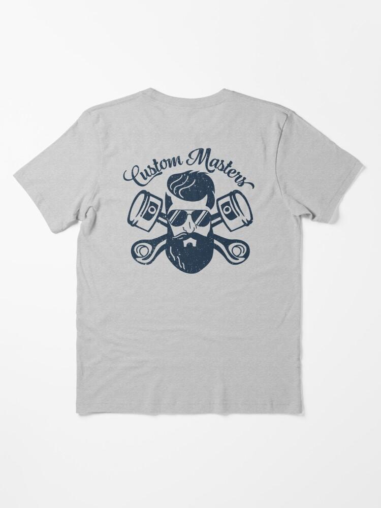 Alternate view of Custom Master Essential T-Shirt