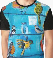 Bird Celebration Graphic T-Shirt