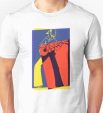 Retro Pop Art Guitarist T-Shirt