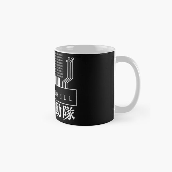 GHOST IN THE SHELL - with Japanese Classic Mug