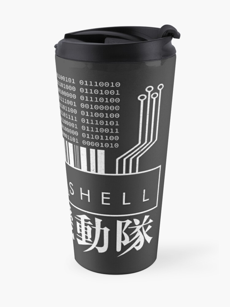 Alternate view of GHOST IN THE SHELL - with Japanese Travel Mug