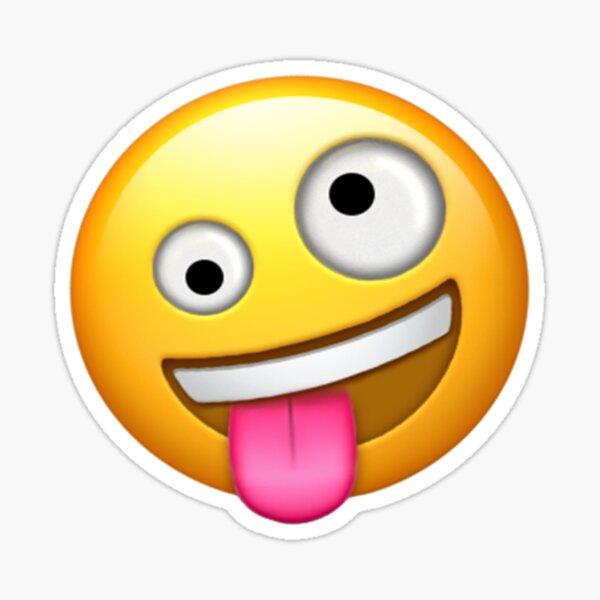 Crazy Face Emoji Sticker