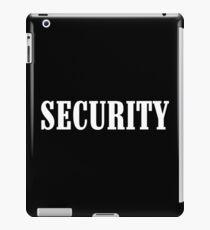 Security! Funny Geek Nerd iPad Case/Skin