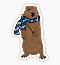 groundhog 3 Sticker