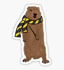 Groundhog 4 Sticker