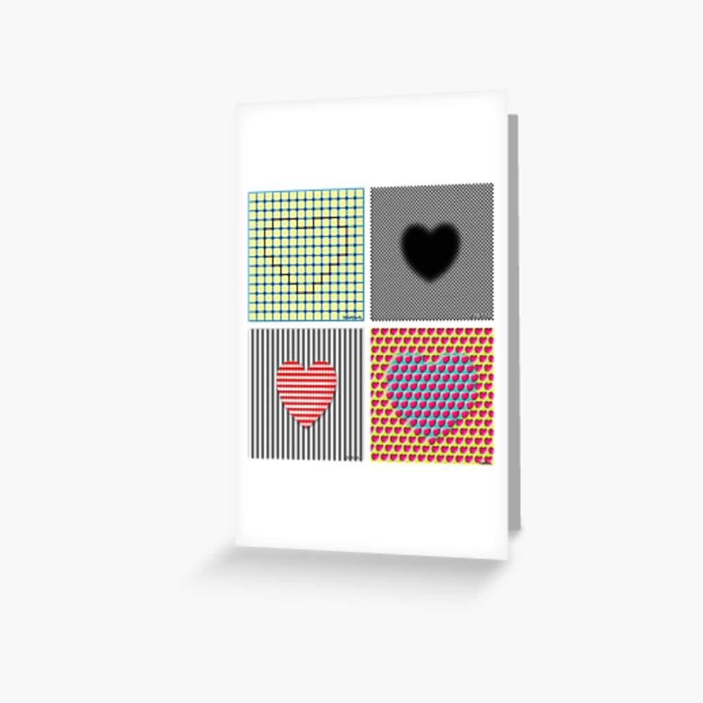 Is Love An Illusion? Greeting Card