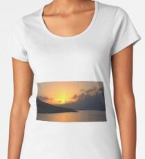 Sunrise on Halki Women's Premium T-Shirt