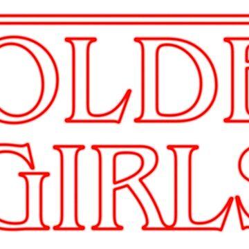 Golden Girls Stranger Things Style by gregs-celeb-art