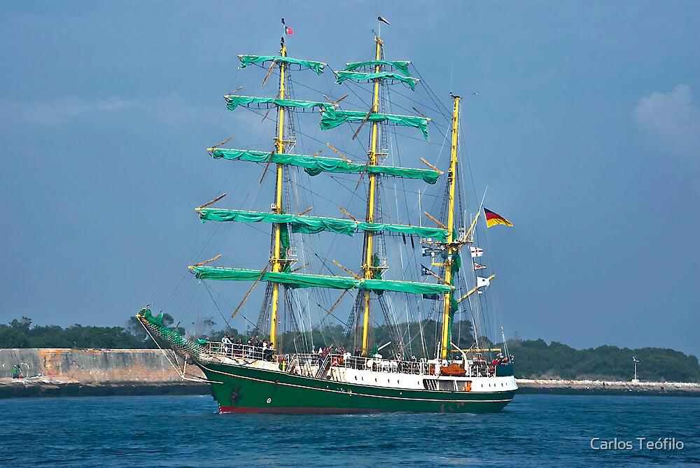 ALEXANDER von HUMBOLDT (Vessels visit Portugal serie) 2 by Carlos Teófilo