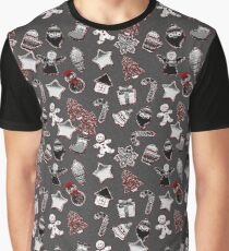 Ginger cookies Christmas pattern Graphic T-Shirt