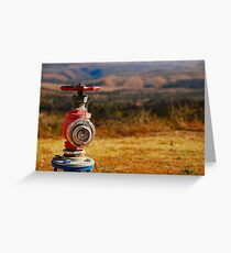 The Hydrant Greeting Card