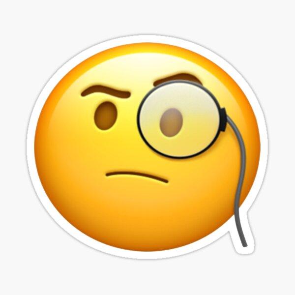 Monocle Emoji Sticker