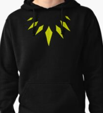 Gold tribal Panther necklace Pullover Hoodie