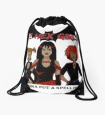 the hex girls Drawstring Bag