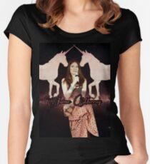 Jaime Unicorn Women's Fitted Scoop T-Shirt